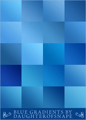 Adobe CC Photoshop Blue Gradation Free grd フォトショップ ブルー グラデーション 無料 素材 Blue Gradients