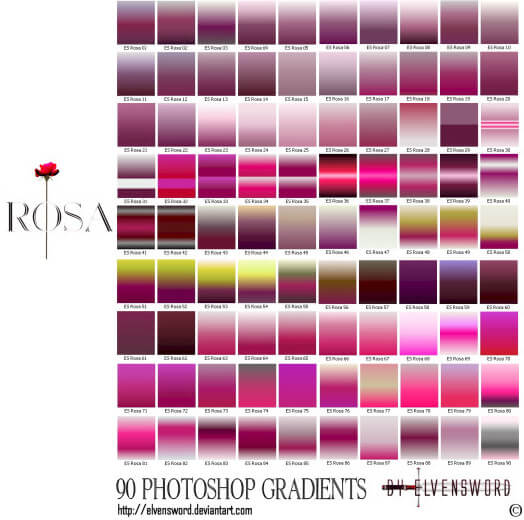 Rosa Ps Gradients
