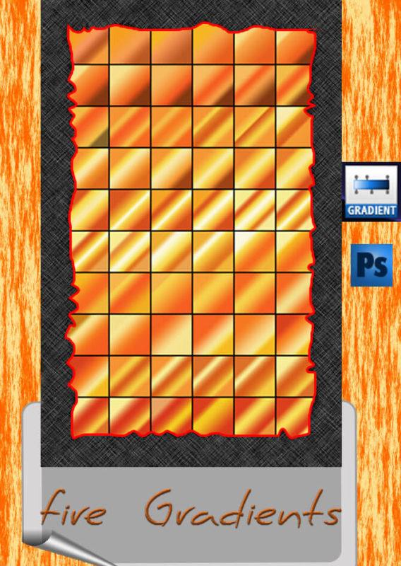 Photoshop Yellow Orange Gradation Free grd フォトショップ イエロー オレンジ グラデーション 無料 素材 fire gradients
