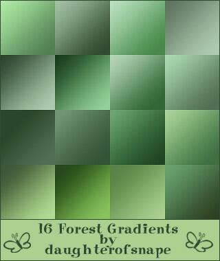 Photoshop Green Gradation Free grd フォトショップ グリーン グラデーション 無料 素材 Forest Gradients