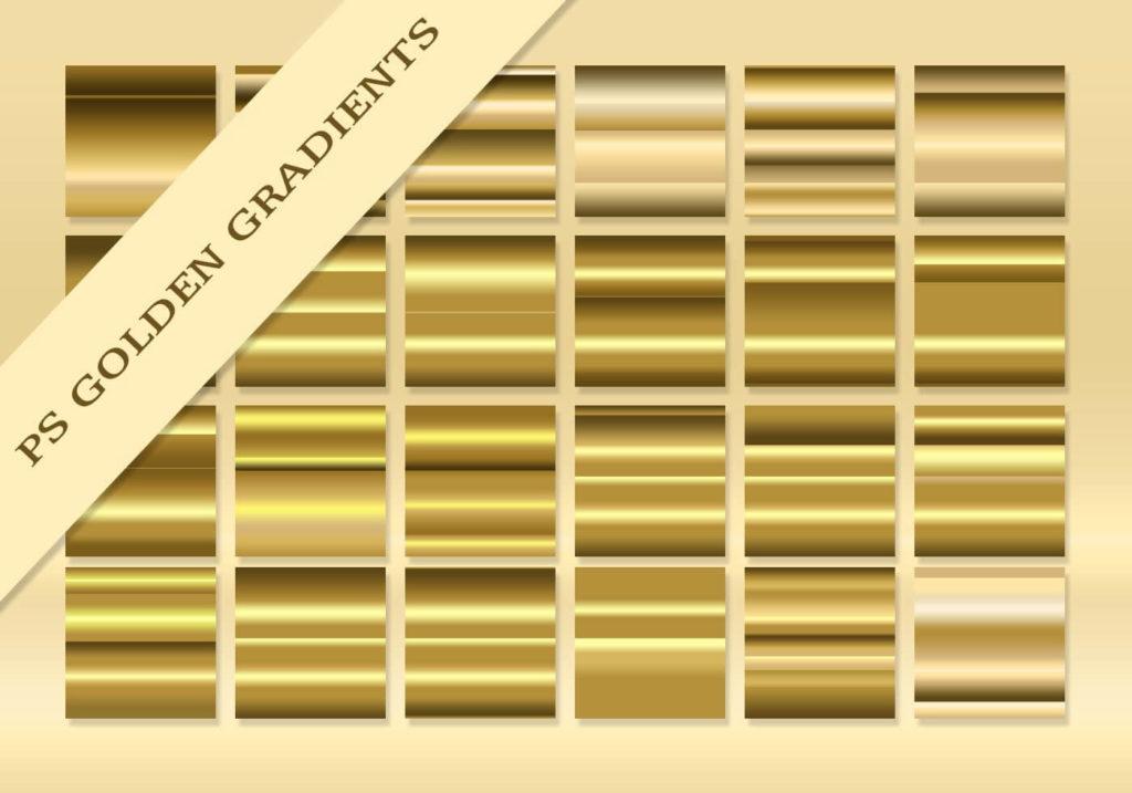 Golden Gradients For Photoshop