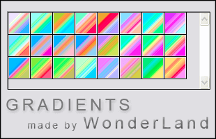 Adobe CC Photoshop Gradation Free grd フォトショップ グラデーション 無料 素材 カラフルなグラデーション素材(.grd)
