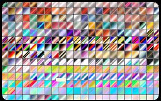 Photoshop Gradation Free grd フォトショップ グラデーション まとめ 無料 素材 1Gradients-Photoshop-part 1