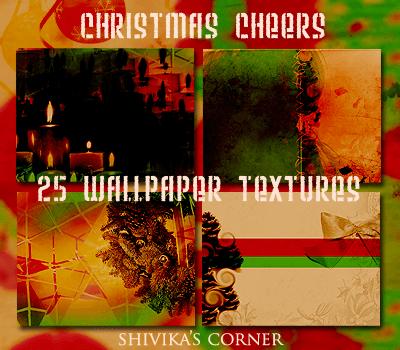 フォトショップ クリスマス パターン テクスチャー Photoshop Christmas Pattern Christmas Cheer Wallpaper Textures