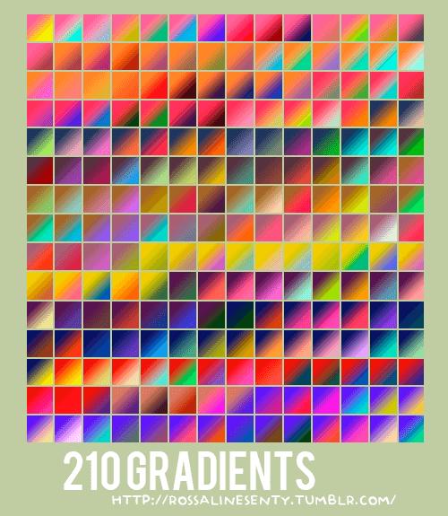 Photoshop Gradation Free grd フォトショップ グラデーション 無料 素材 210