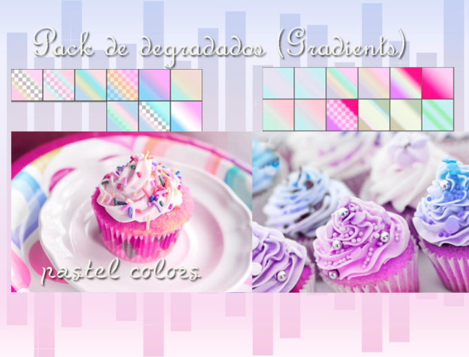 Photoshop Gradation Free grd フォトショップ グラデーション 無料 素材 Photoshop Gradation Pastel Colors