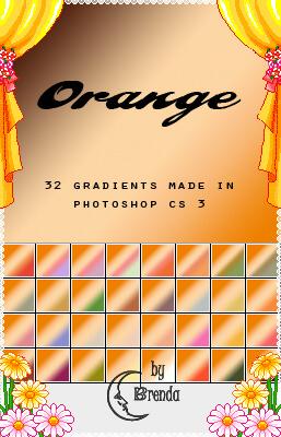Photoshop Yellow Orange Gradation Free grd フォトショップ イエロー オレンジ グラデーション 無料 素材 Photoshop Orange Gradients