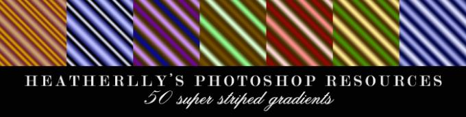Photoshop Gradation Free grd フォトショップ グラデーション 無料 素材 SuperStripey Gradients