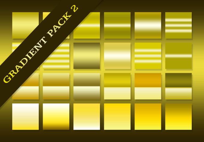 Adobe CC Photoshop Yellow Orange Gradation Free grd フォトショップ イエロー オレンジ グラデーション 無料 素材 The Ultimate Gradients Pack #2