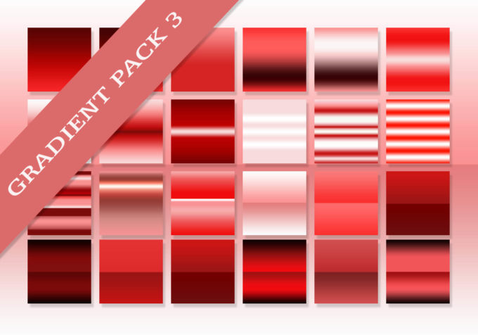 Adobe CC Photoshop Red Pink Gradation Free grd フォトショップ レッド ピンク グラデーション 無料 素材 The Ultimate Gradients Pack #3
