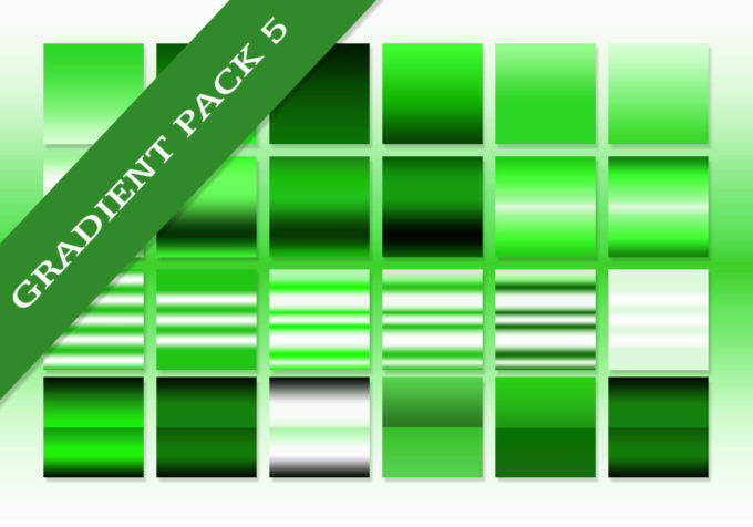 Photoshop Green Gradation Free grd フォトショップ グリーン グラデーション 無料 素材 The Ultimate Gradients Pack #5