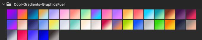 Adobe CC Photoshop フォトショップ グラデーション プリセット 無料 素材 40 Free Gradients For Photoshop .grd