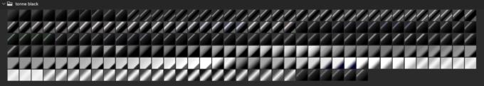 Adobe CC Photoshop Gradation Preset フォトショップ グラデーション プリセット 無料 素材 セット .grd ブラック