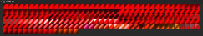 Adobe CC Photoshop Gradation Preset フォトショップ グラデーション プリセット 無料 素材 セット .grd レッド 赤