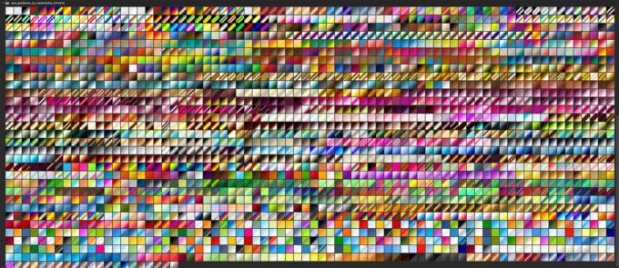 Adobe CC Photoshop フォトショップ グラデーション プリセット 無料 素材 セット .grd