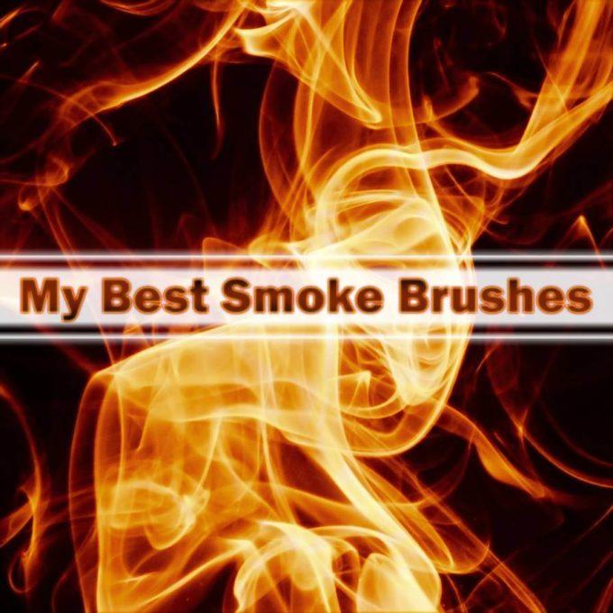 フォトショップ ブラシ Photoshop Brush 無料 イラスト 炎 火 ファイヤー 11 Smoke Brushes