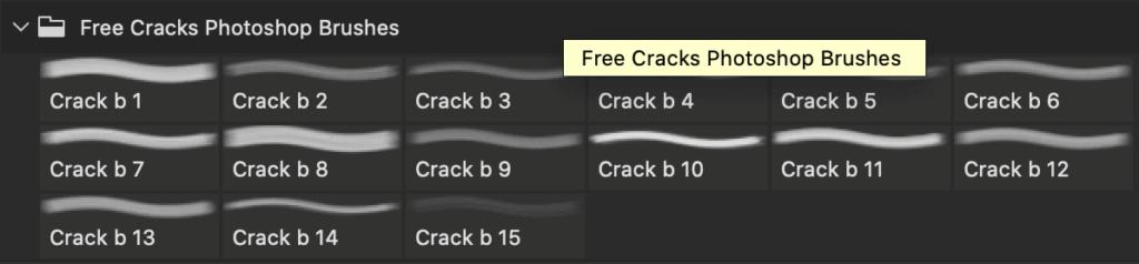 フォトショップ ブラシ Photoshop Brush 無料 イラスト クラック ひび割れ ヒビ 亀裂 ガラス Free Cracks Photoshop Brushes