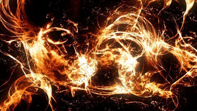 フォトショップ ブラシ Photoshop Brush 無料 イラスト 火 炎 ファイヤー Aura of Fire