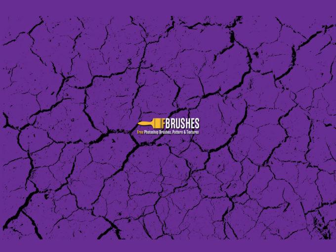フォトショップ ブラシ Photoshop Brush 無料 イラスト クラック ひび割れ ヒビ 亀裂 壁 Crack Effect Brush Pack