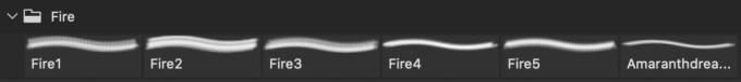 フォトショップ ブラシ Photoshop Brush 無料 イラスト 炎 火 ファイヤー Fire