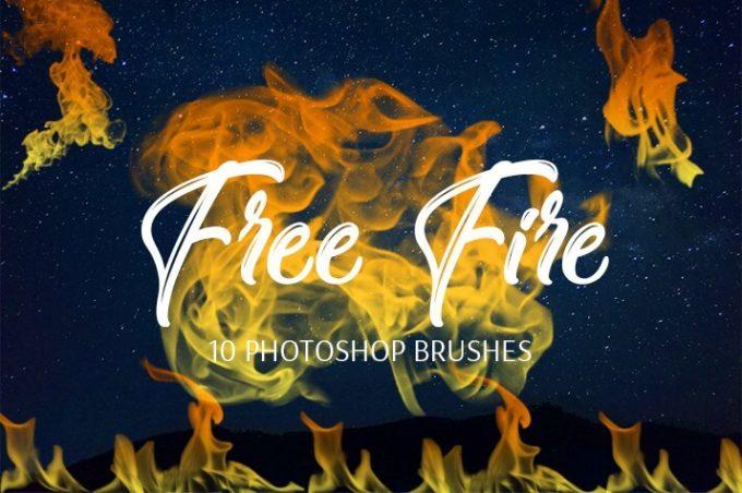 フォトショップ ブラシ Photoshop Brush 無料 イラスト 火 炎 ファイヤー Fire Brushes - Free Collection