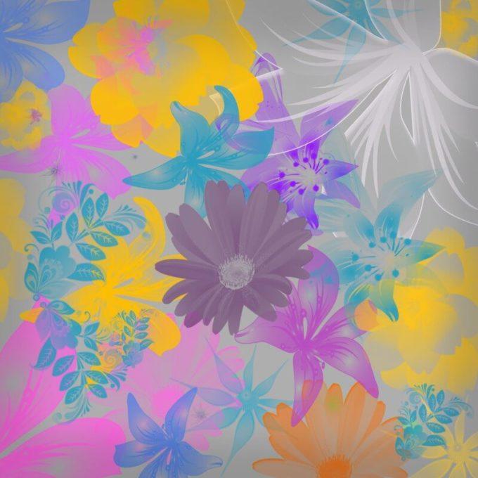 フォトショップ ブラシ Photoshop Brush 無料 Flower イラスト 花 フラワー 46 Hi Res Flower Brushes
