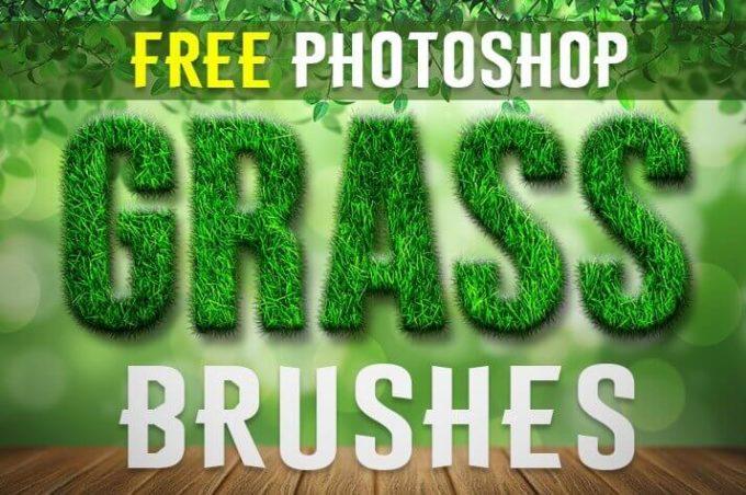 フォトショップ ブラシ Photoshop Brush 無料 イラスト 草 雑草 植物 葉 プランツ Free Photoshop Grass Brushes by FixThePhoto