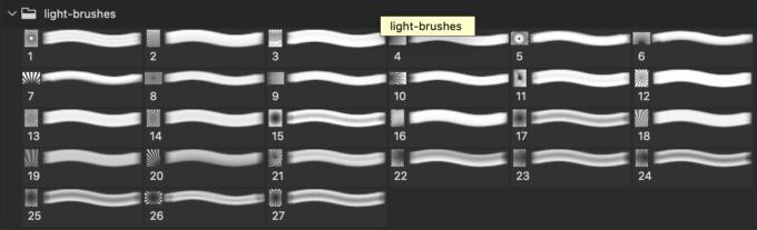 フォトショップ ブラシ Photoshop Retro Pattern Brush 無料 イラスト ヴィンテージ レトロ 模様 柄 27 Light Beam Photoshop Brushes