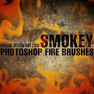 フォトショップ ブラシ Photoshop Brush 無料 イラスト 火 炎 ファイヤー Free Fire Photoshop Brushes