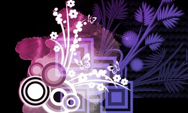 フォトショップ ブラシ Photoshop Japanese Brush 無料 イラスト 和 和風 和柄 和花 Japanese Floral Design