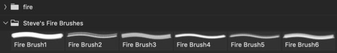 フォトショップ ブラシ Photoshop Brush 無料 イラスト 火 炎 ファイヤー Steve's Fire Brushes