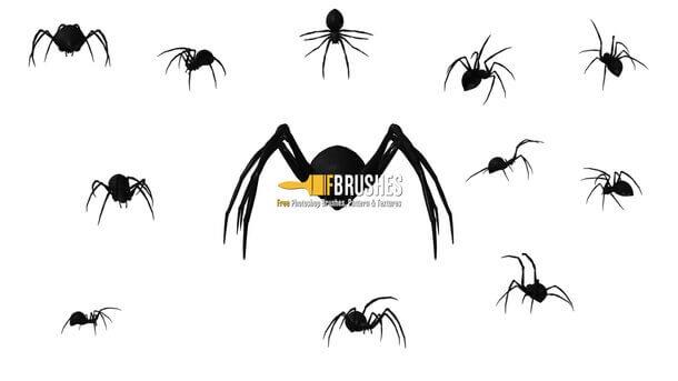 フォトショップ ブラシ Photoshop Brush 無料 クモ クモの巣 蜘蛛 スパイダー Webslingers