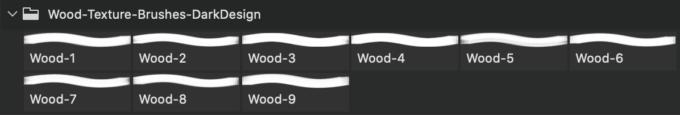 フォトショップ ブラシ Photoshop Brush 無料 イラスト 木 ウッド 木目 Wood Texture Brushes