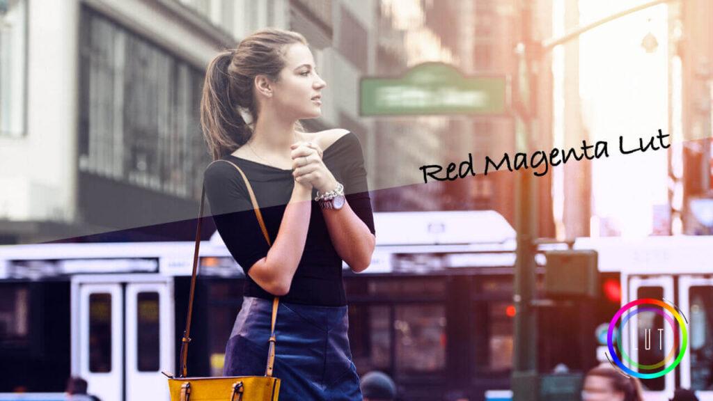 Red Magenta Lut 無料 ダウンロード cube look