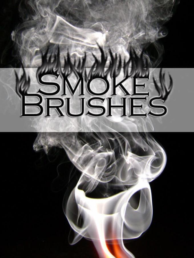 フォトショップ ブラシ Photoshop Brush 無料 イラスト 煙 スモーク  Smoke Brushes Adobe7.0+