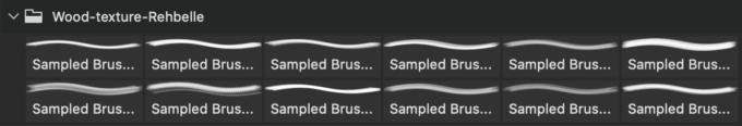 フォトショップ ブラシ Photoshop Brush 無料 イラスト 木 ウッド 木目 Wood Brush Pack