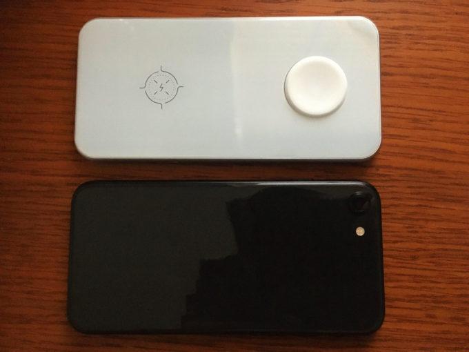 卓上ワイヤレス充電器 Aouevyo iPhone SE 2