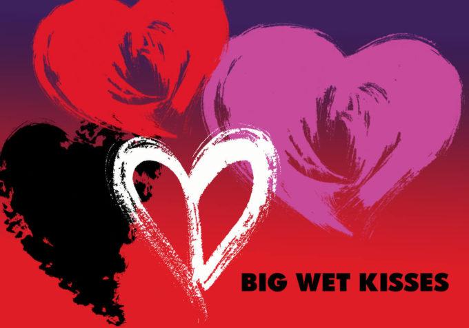 フォトショップ ブラシ 無料 ハート Photoshop Heart Brush Free abr Big Wet Kisses