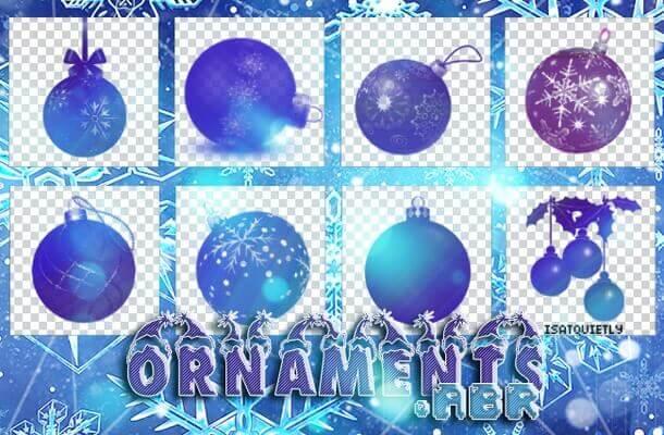 フォトショップ ブラシ 無料 クリスマス オーナメント 飾り 無料 Photoshop Christmas Ornament Brush Free abr Christmas Tree Ornaments