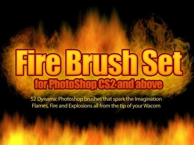 フォトショップ ブラシ Photoshop Fire Brush 無料 イラスト 火 炎 ファイヤー Firebrush