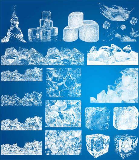フォトショップ ブラシ Photoshop ice frozen Brush 無料 イラスト クリスマス 氷 アイス HD ice Photoshop Brushes