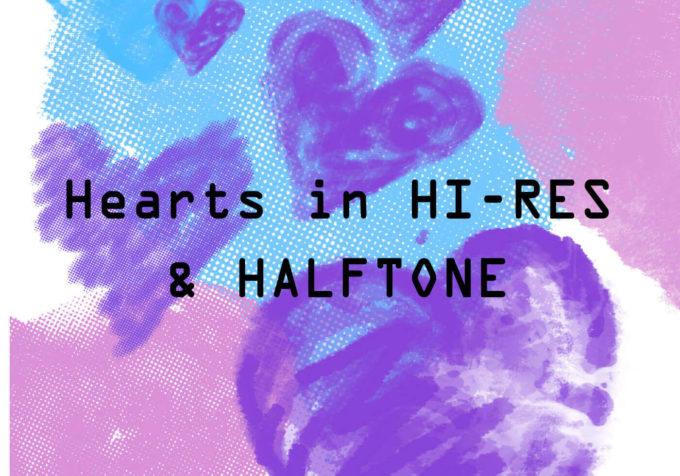 フォトショップ ブラシ 無料 ハート Photoshop Heart Brush Free abr Hearts HI-RES & HalfTone