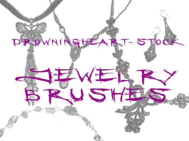 フォトショップ ブラシ Photoshop Accessories Brush 無料 イラスト アクセサリー jewelry brushes