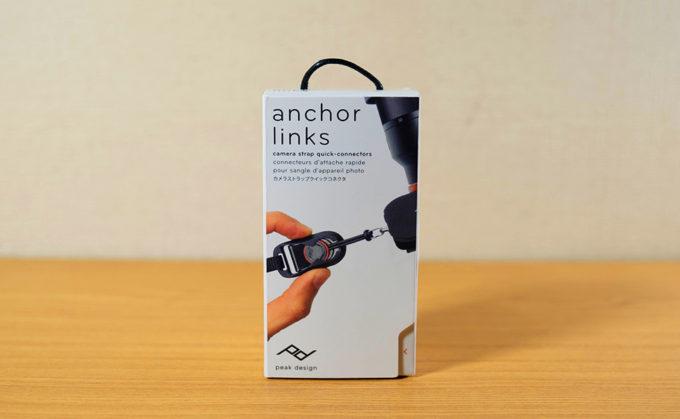 PeakDesign Anchor Links アンカーリンクス 箱