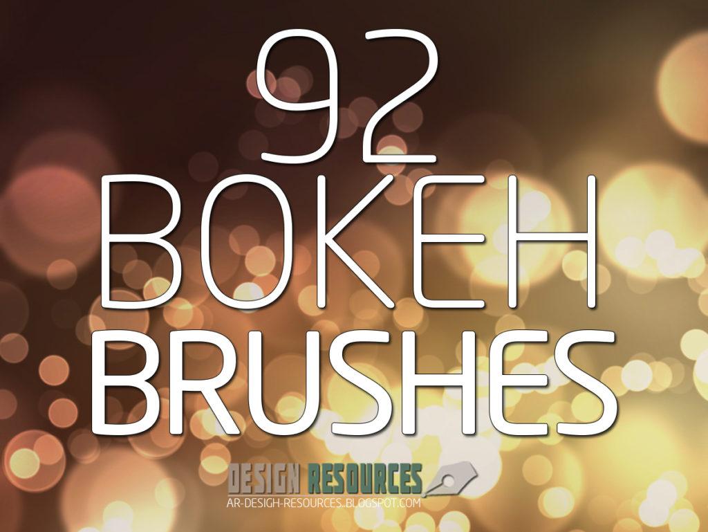 Photoshop Bokeh Brush フォトショップ ブラシ 無料 ボケ 玉ボケ Bokeh PS Brushes Free Pack