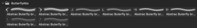 フォトショップ ブラシ Photoshop Butterfly Brush 無料 イラスト 蝶 Abstract Butterflies