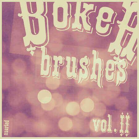 Photoshop Bokeh Brush フォトショップ ブラシ 無料 ボケ 玉ボケ bokeh new brushes
