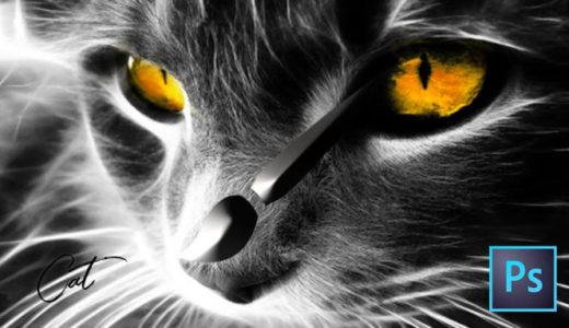 フォトショップ ブラシ 無料 ネコ 猫 Photoshop Cat Brush Free abr
