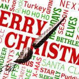 フォトショップ ブラシ 無料 クリスマス ラベル テキスト Photoshop Christmas Text Label Brush Free abr