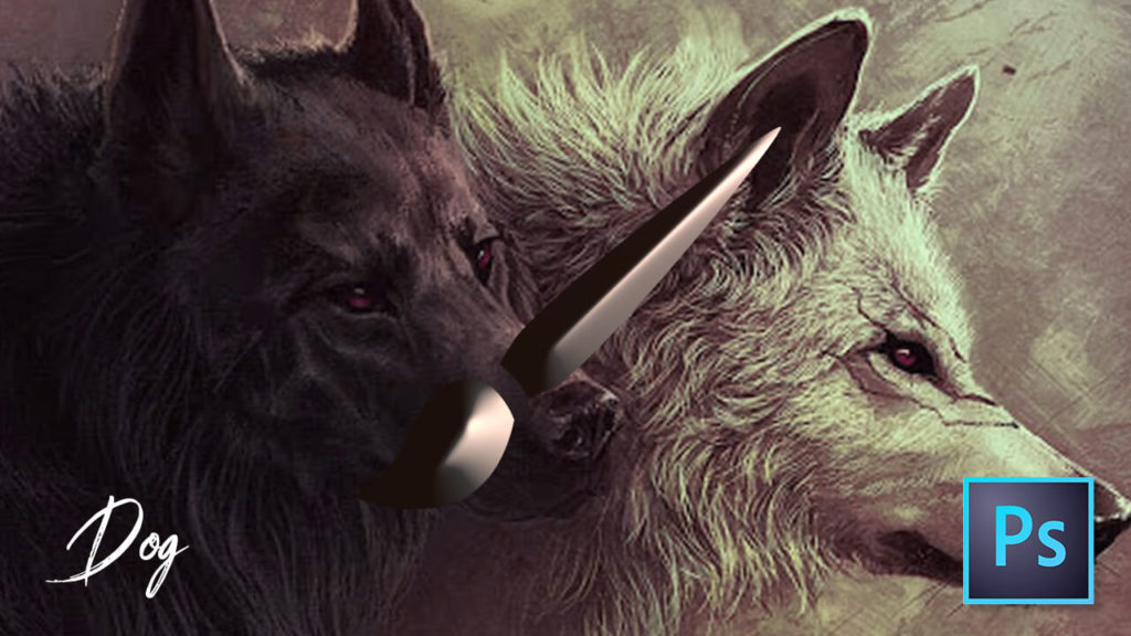 フォトショップ ブラシ 無料 犬 ドッグ Photoshop Dog Brush Free abr